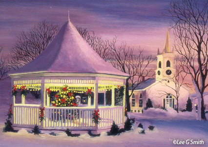 Paintings Of Christmas Scenes By Lee G Smith