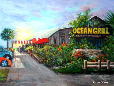 Paintings of Florida Scenes by Lee G Smith
