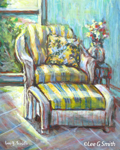 Chair Paintings By Lee G Smith