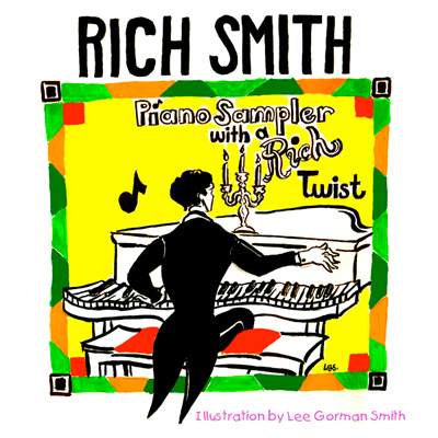 Piano Sampler with a Rich Twist album cover