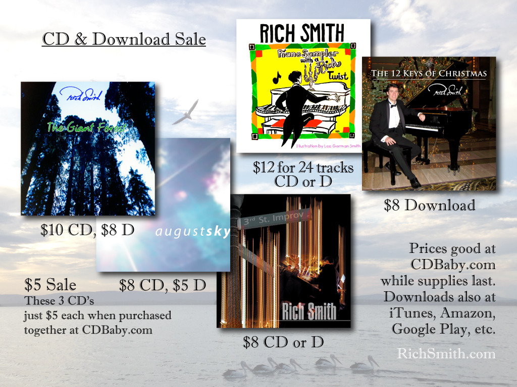 CD and Download Sale